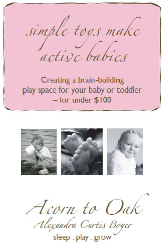 Simple Toys Make Active Babies